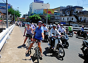 City Bike Tour in Cambodia